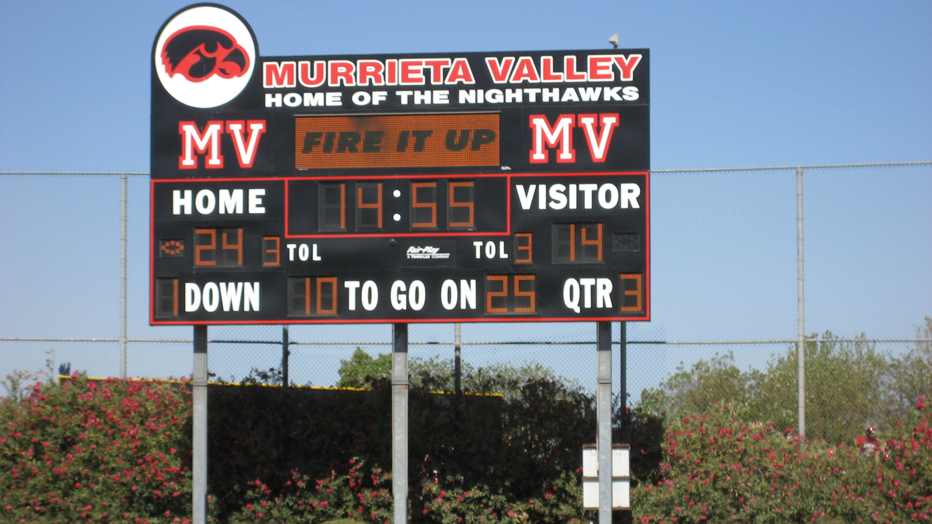 Murrietta Valley HS Football