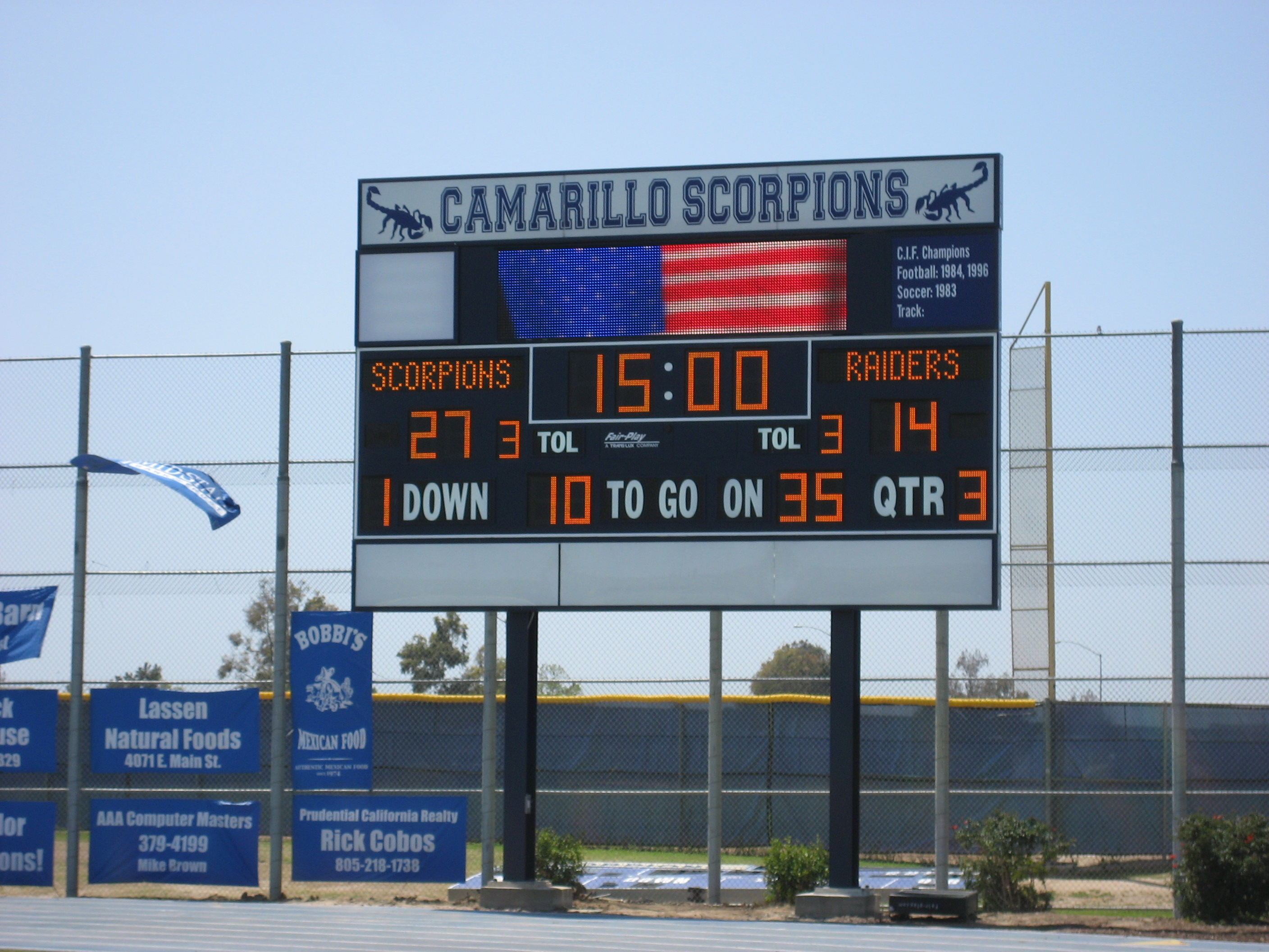 Camarillo HS Football