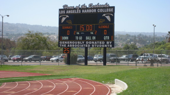 LA Harbor College Football4