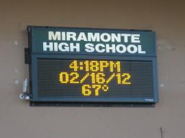 Miramonte HS Marquee 7