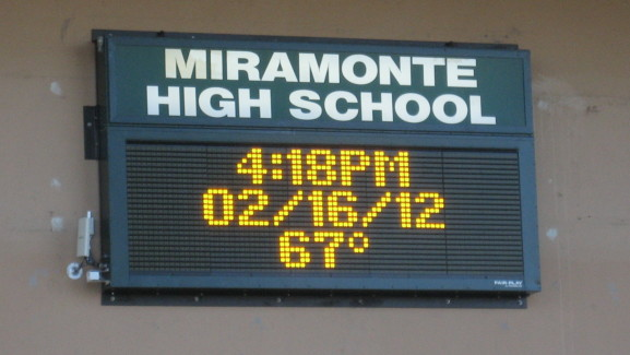 Miramonte HS Marquee 7